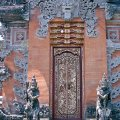 Temple door in Pejeng near Ubud